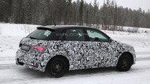 2014 Audi A1 facelift spy photo