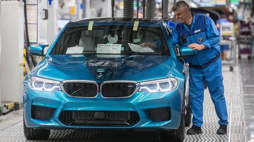 2018 BMW M5'in üretimi başladı
