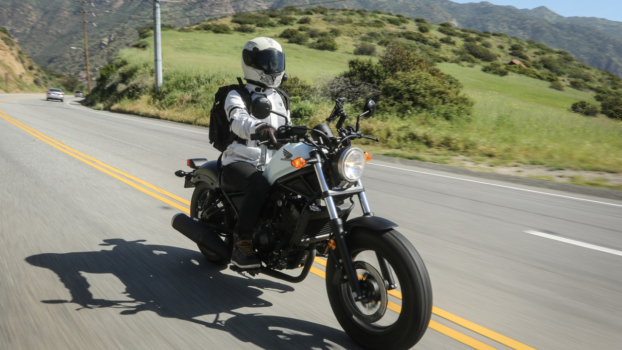 2017 Honda Rebel 500 And Rebel 300 First Ride Review