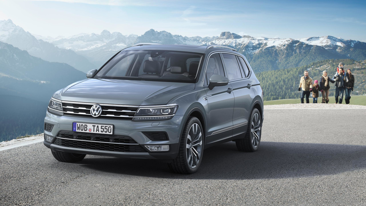 gen ve 2017 le volkswagen tiguan allspace fait sa premi re europ enne. Black Bedroom Furniture Sets. Home Design Ideas