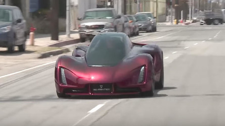 Jay Leno Takes The 720-HP, 3D-Printed Blade Supercar For A Spin