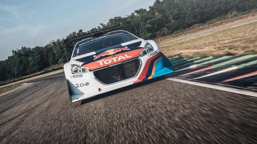 Loeb Peugeot 208 Pikes Peak 5