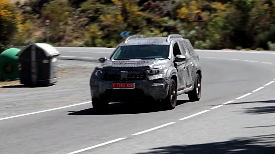 New 2018 Dacia Duster Caught Testing