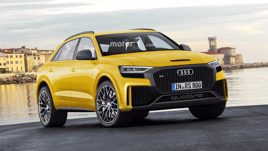 Big, Bold Audi Q8 And Q8 RS Rendered