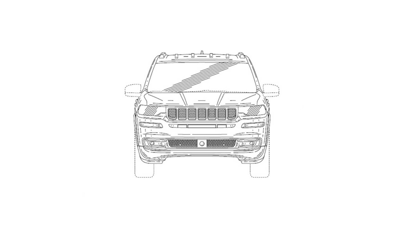 Jeep 7-Seater Patent Drawing