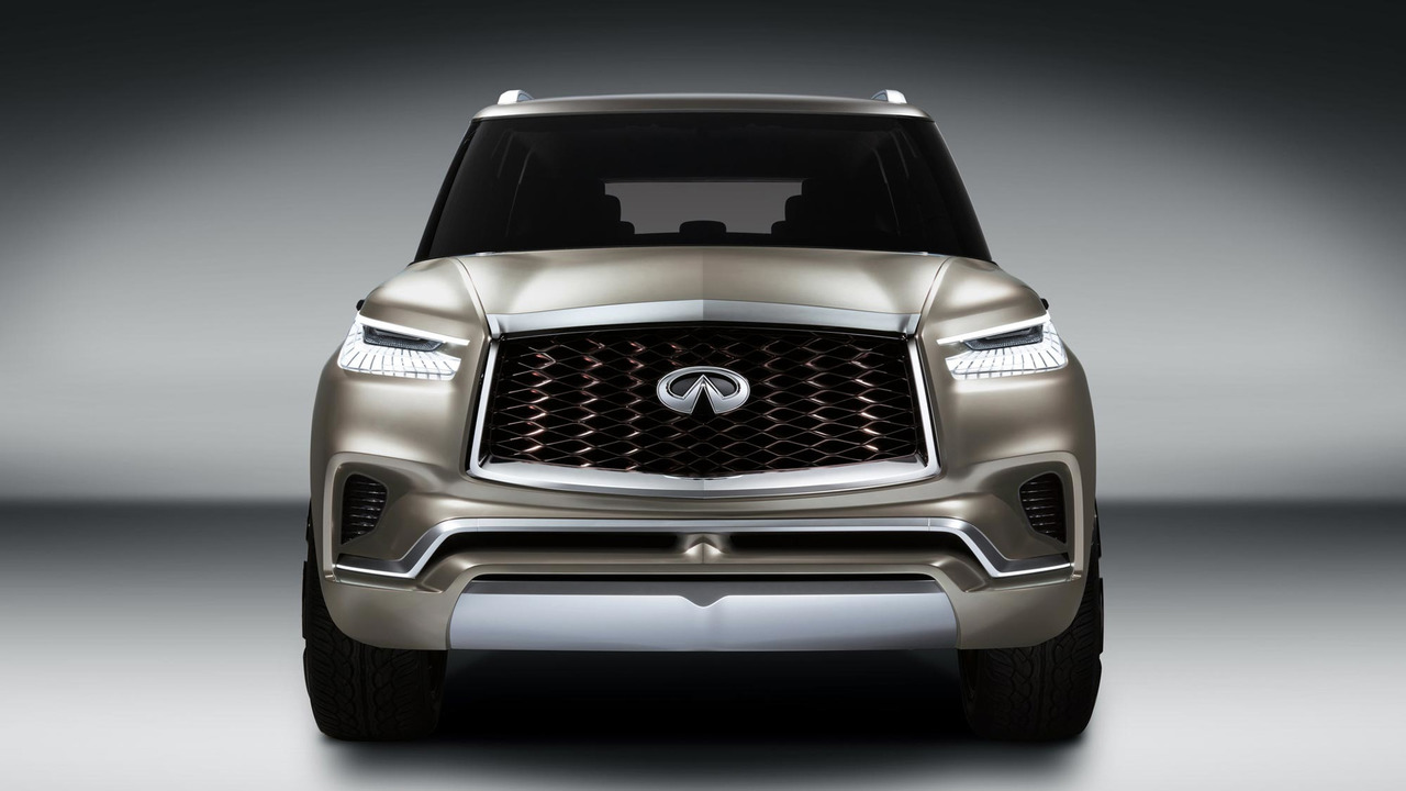 infiniti qx80 monograph concept revealed ahead of new york debut the ultimate expression of futuristic luxury suv design previewing the next gen
