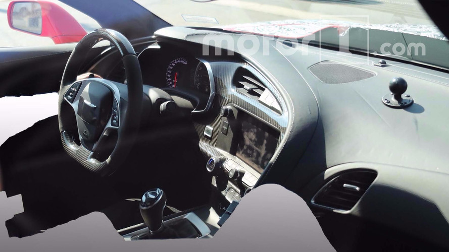 Chevrolet Corvette ZR1 Interior Revealed In Latest Spy Photos