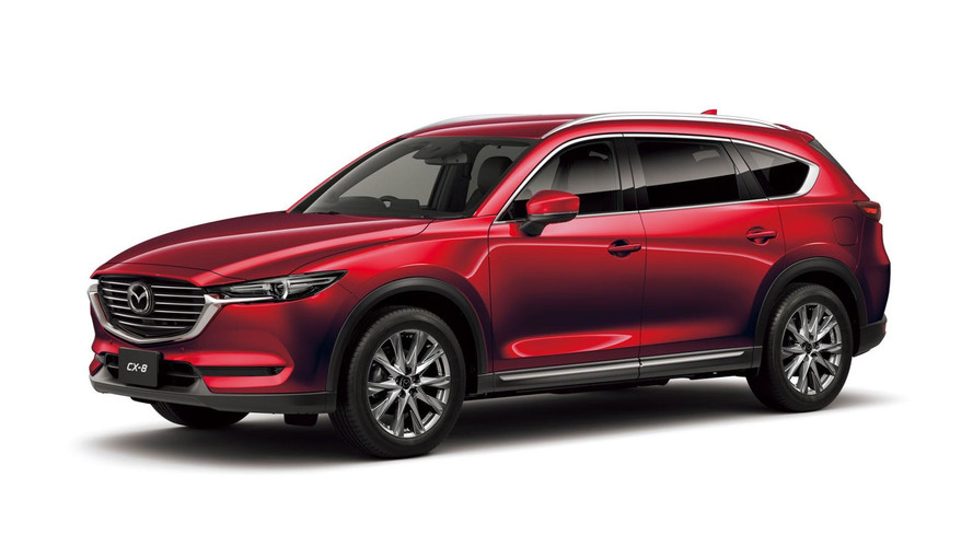 Mazda CX-8 al Salone di Pechino