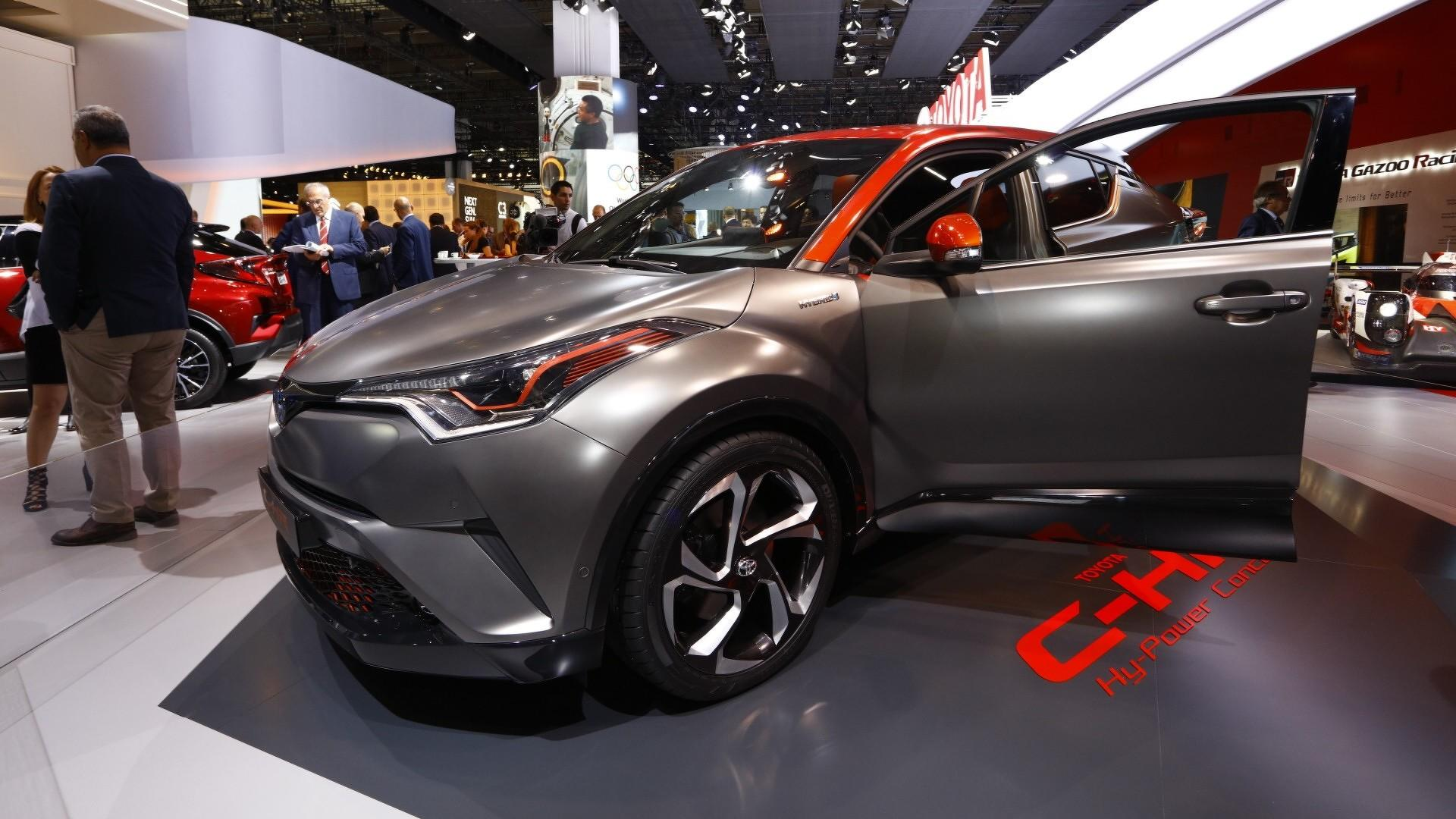 toyota c hr hy power concept unveiled with more hybrid punch. Black Bedroom Furniture Sets. Home Design Ideas