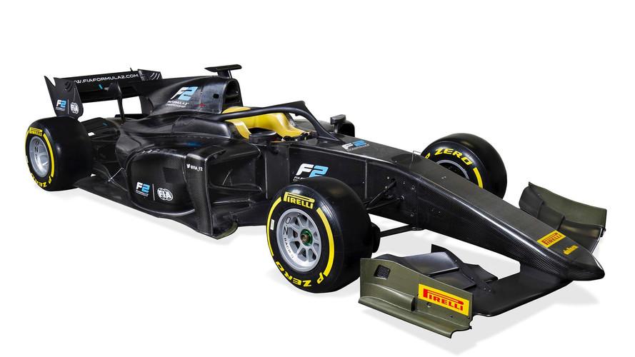 Auto de la FIA Fórmula 2 2018