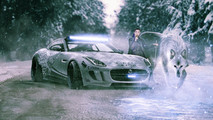 Arya Stark -  Jaguar F-Type Winter Edition