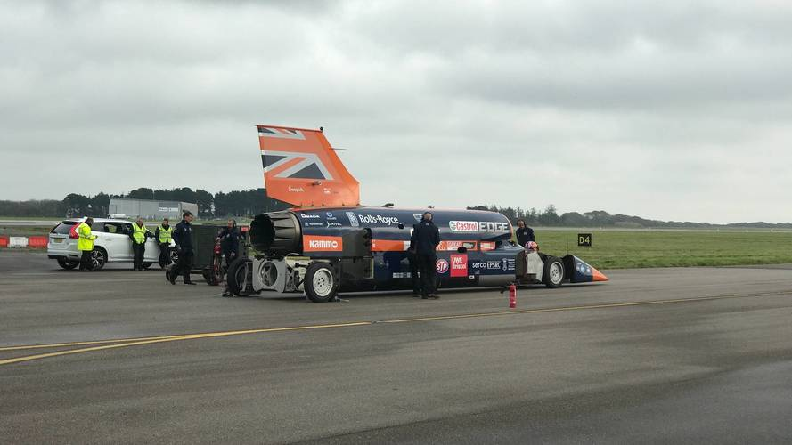 Bloodhound SSC successful run