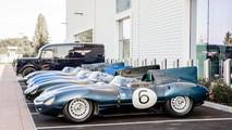 Jaguar D-Type Le Mans Victory Celebration