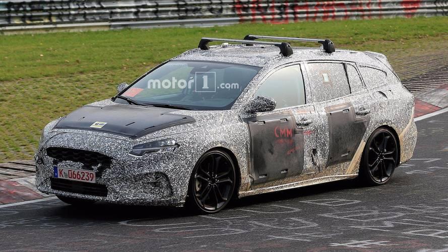 VIDÉO - La future Ford Focus SW ST sur le Nürburgring