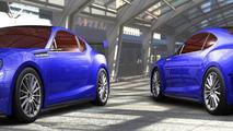 Subaru BRZ STI concept - 1.11.2011