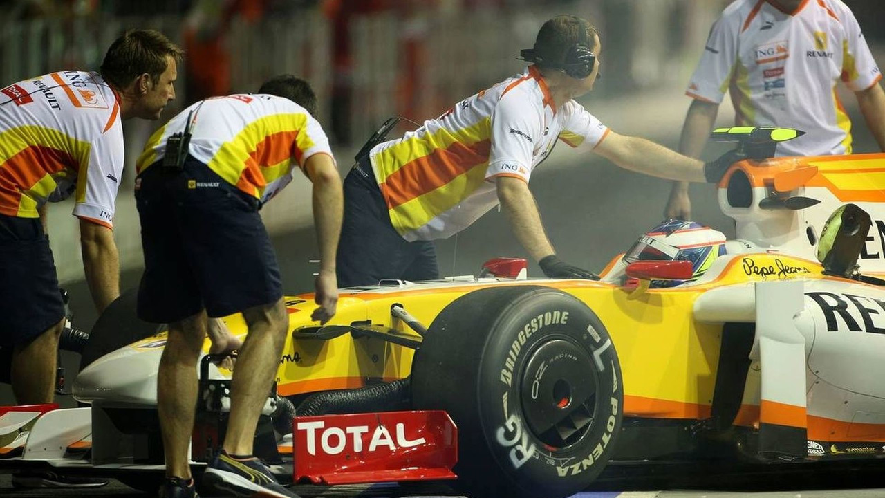 Romain Grosjean (FRA), Singapore Grand Prix, 25.09.2009