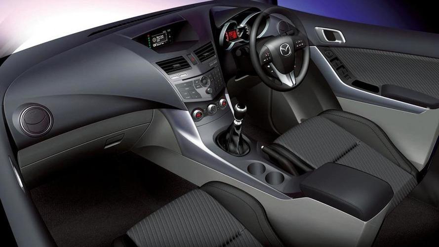 Mazda teases BT-50 interior