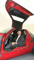Mercedes SLS AMG Gullwing teasers - 1024