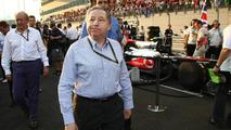 Jean Todt (FRA), FIA president - Formula 1 World Championship, Rd 19, Abu Dhabi Grand Prix, Sunday Pre-Race Grid, 14.11.2010