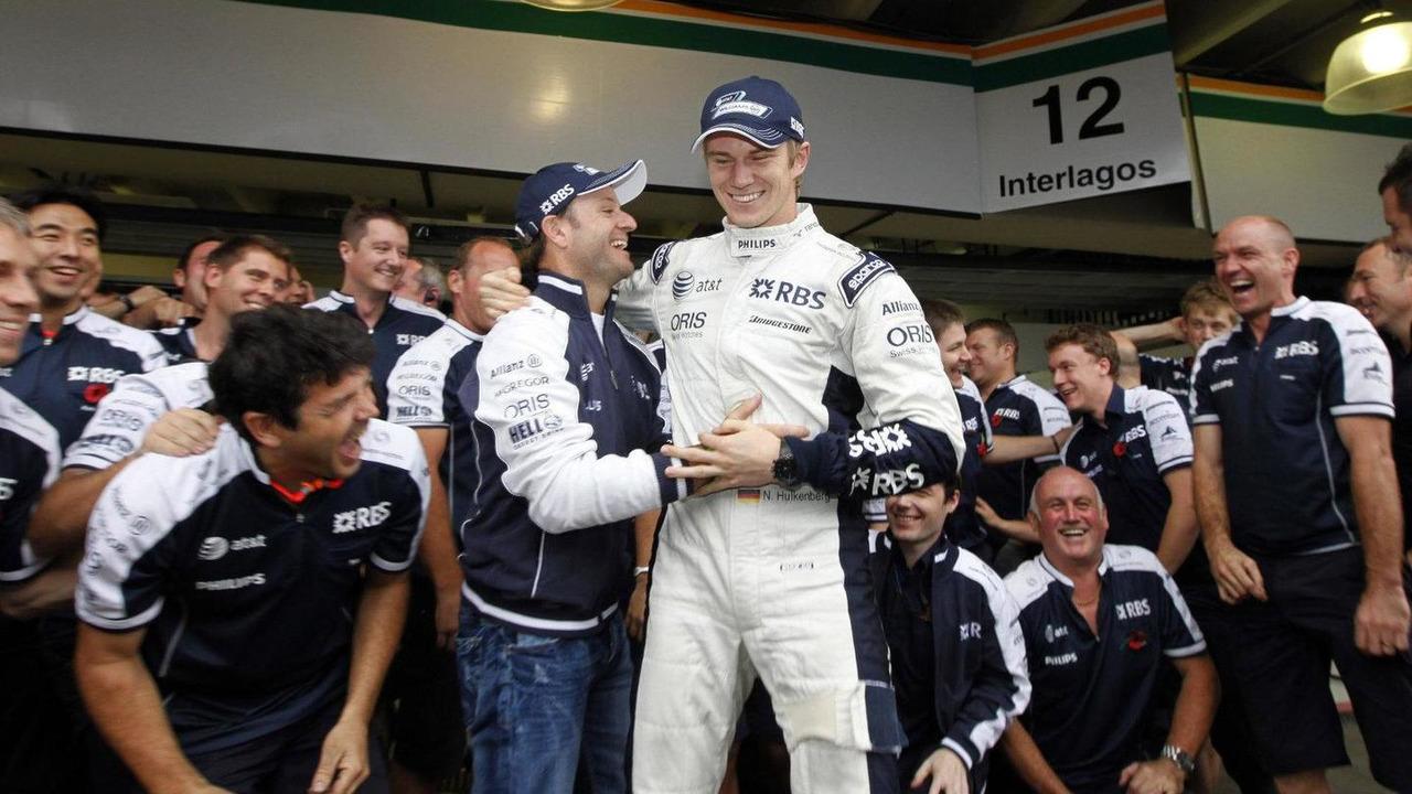 Nico Hulkenberg (GER), Williams F1 Team - Formula 1 World Championship, Rd 18, Brazilian Grand Prix, 06.11.2010 Sao Paulo, Brazil, 06.11.2010 Sao Paulo, Brazil