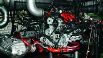 Gemballa Porsche engine dyno testing, company photos, 25.02.2010
