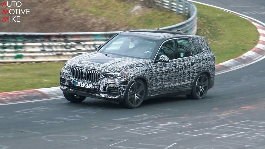 Spend More Than 5 Minutes With The New BMW X5 At The Nürburgring