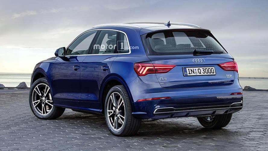2019 Audi Q3 render