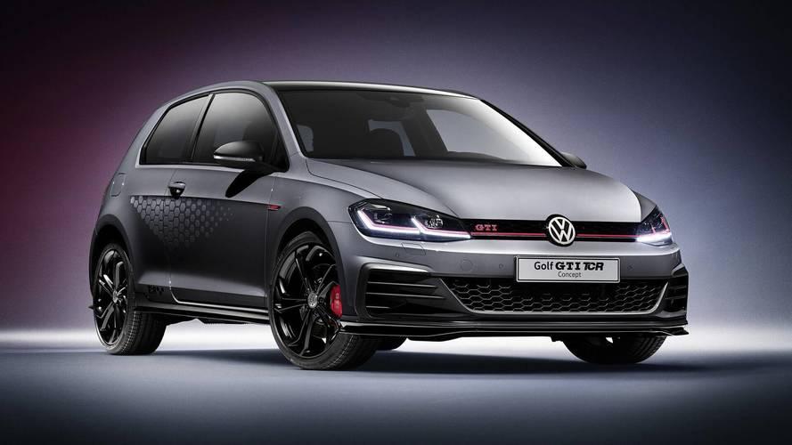 2018 VW Golf GTI TCR tanulmány