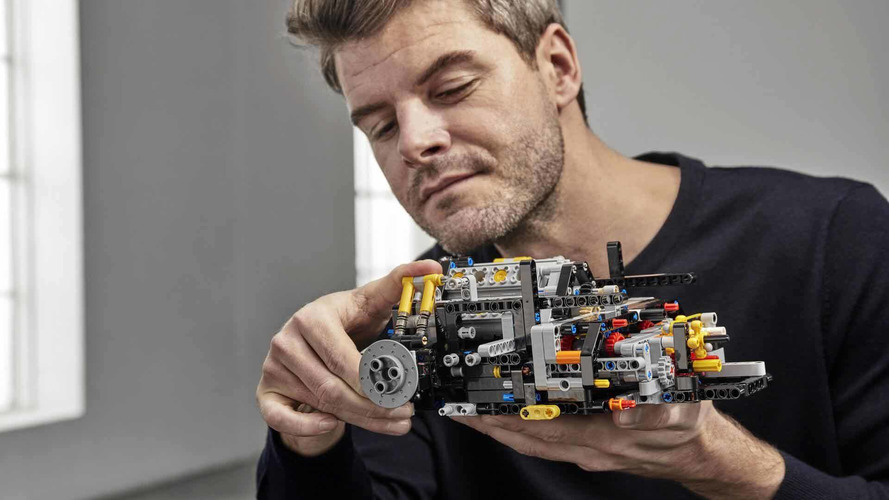 Can't afford a real Bugatti Chiron? Build this Lego Technic model instead