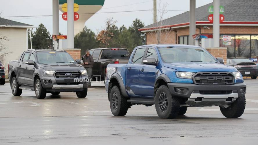 Ford Ranger Wildtrak Caught Testing In U.S. With Ranger Raptor