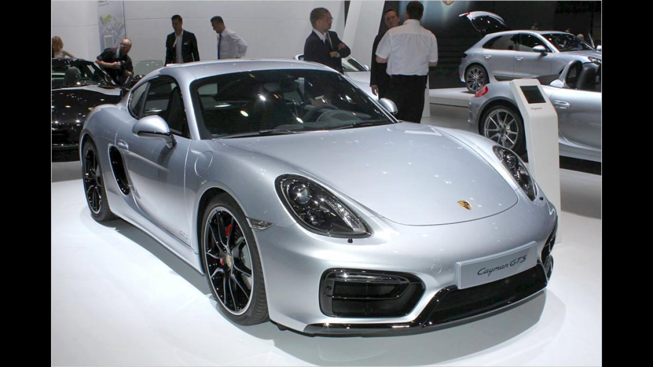 Porsche Boxster und Cayman GTS