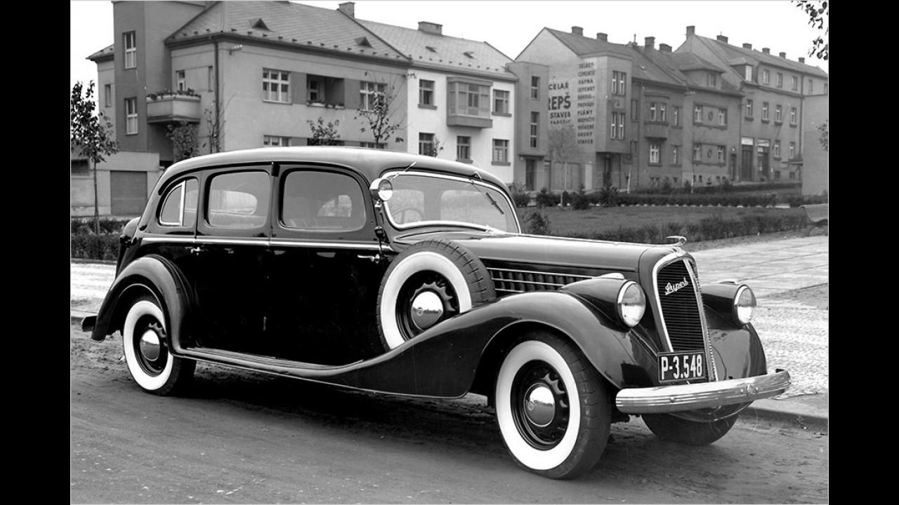 1936: Skoda Superb Saloon
