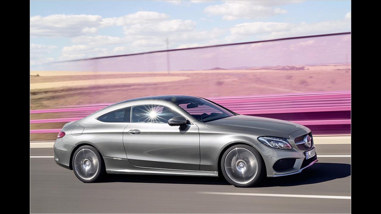 Auflösung: Das Mercedes C-Klasse Coupé