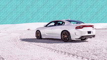 Fastest Production Cars Dodge Charger Hellcat lead