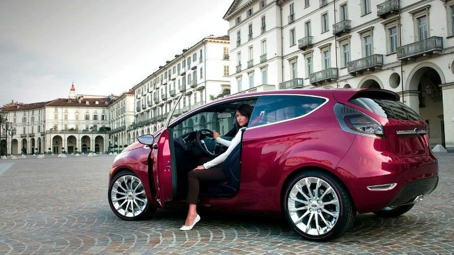 Verve Concept previews future small-car Fords