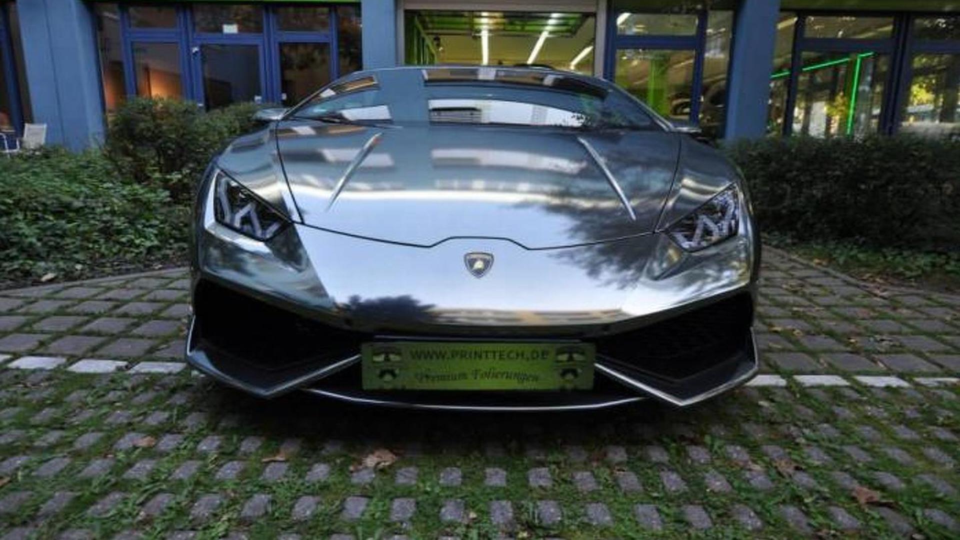 Lamborghini Huracan в виниле от Print Tech