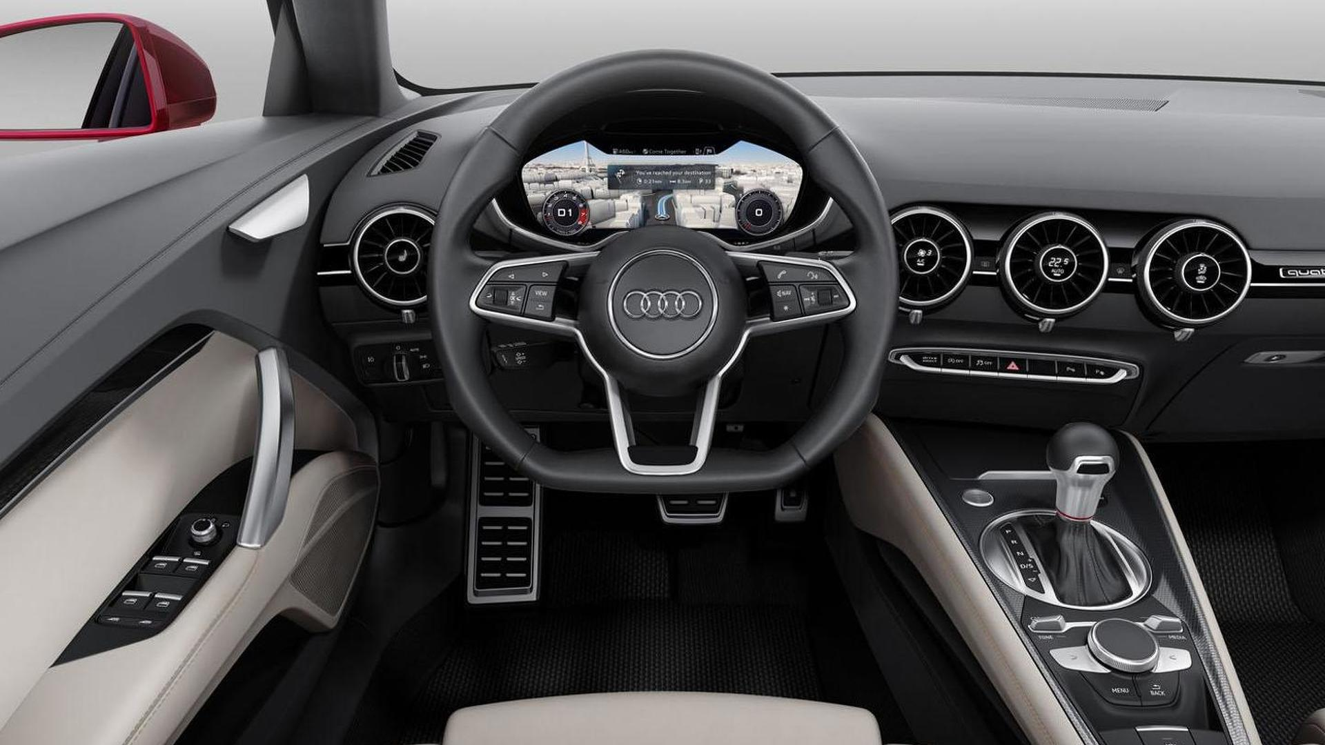 Фото салона Audi TT Sportback Concept 2014