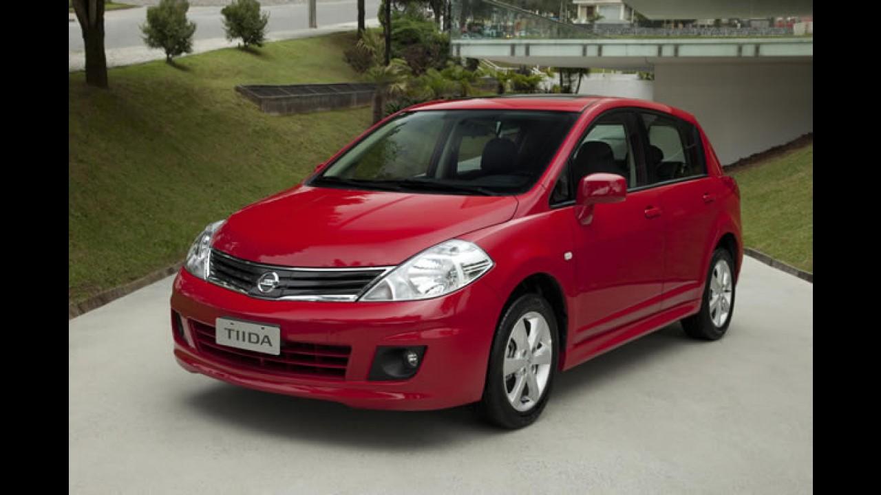 Vendas da Nissan cresceram 25% em abril em relação a 2010