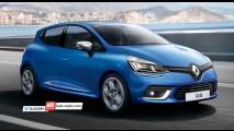 Longe do Brasil, Clio IV estreará novo visual em março no Salão de Genebra