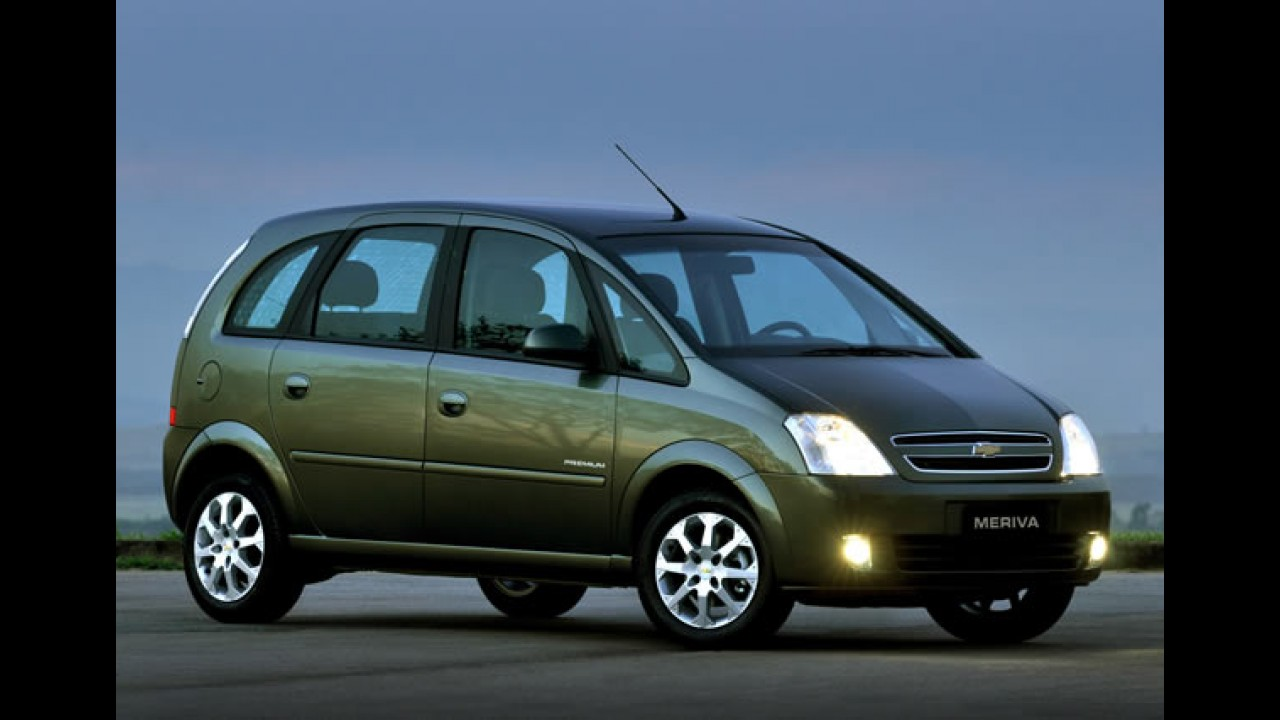 Minivans: o que é possível comprar entre R$ 45 mil e R$ 60 mil?