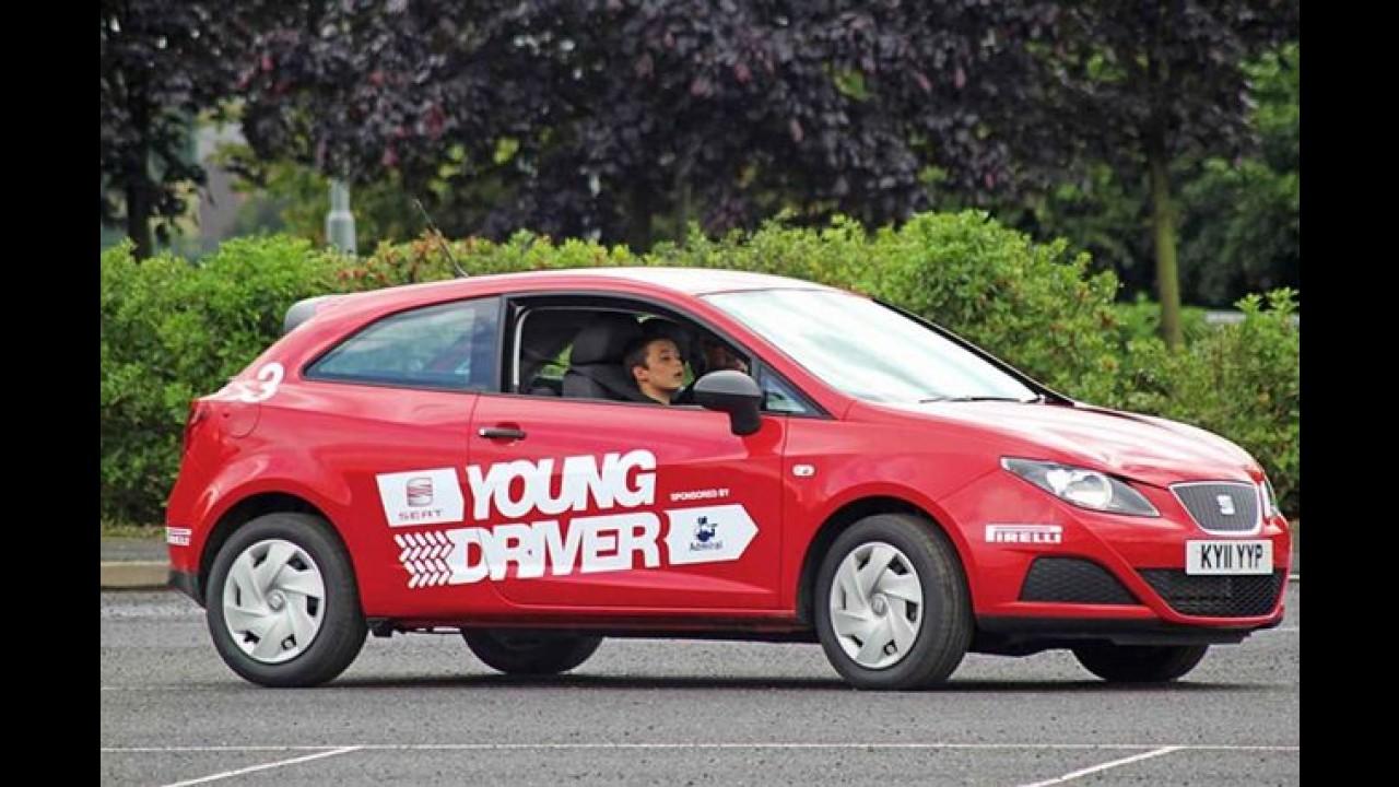 Jovens gastam em média 18% do salário para bancar o seguro do carro na Inglaterra