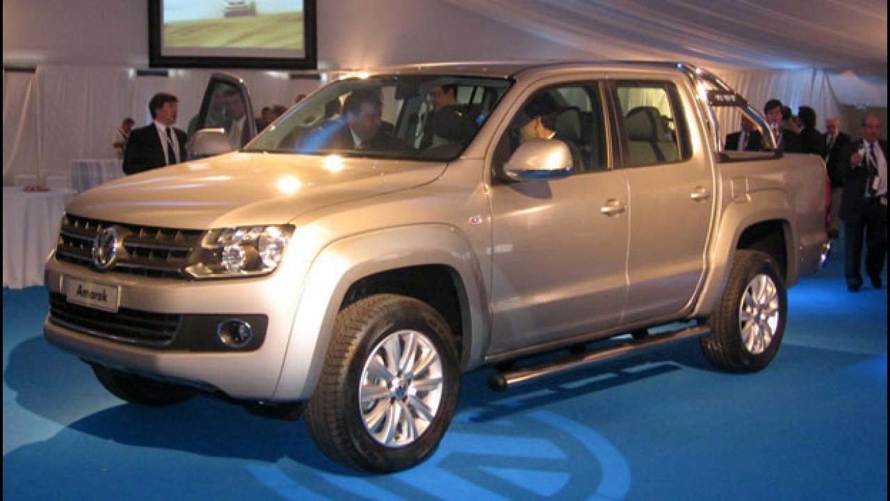 Volkswagen lança oficialmente a Nova Pick-up Amarok na Argentina - Veja fotos