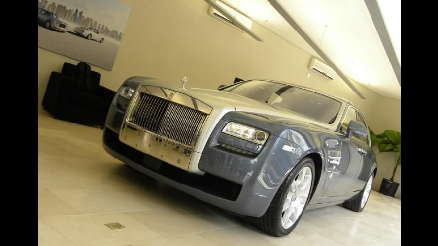 Que crise? Rolls-Royce comemora 3º mês de crescimento consecutivo no semestre