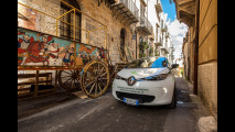 Renault Zoe a noleggio Sicily by Car con Enel