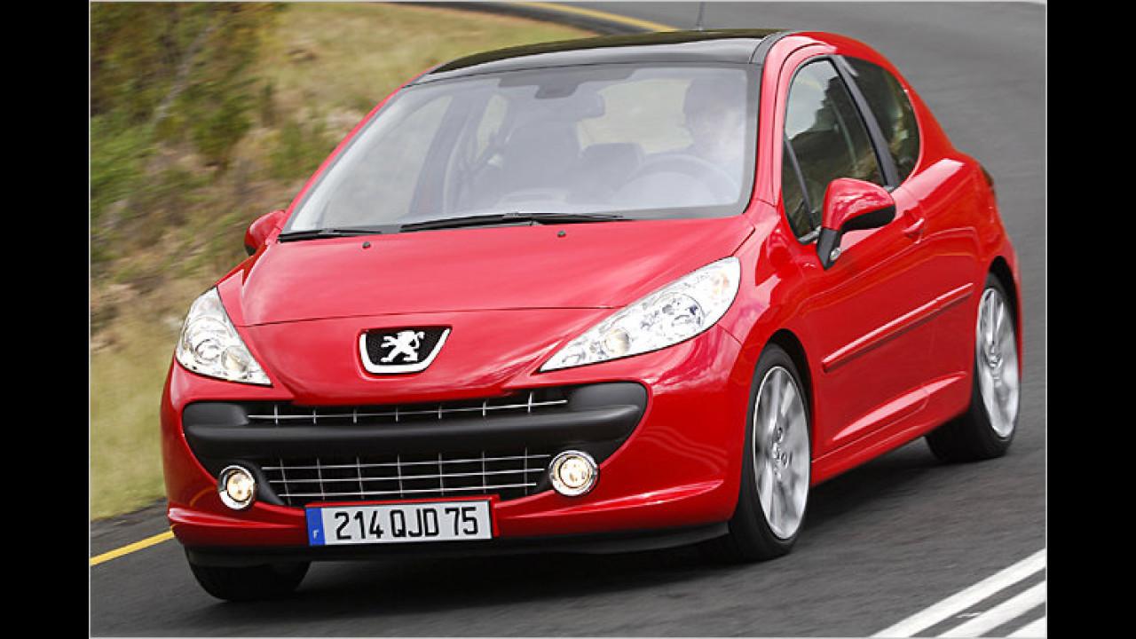 ... wurde der Peugeot 207