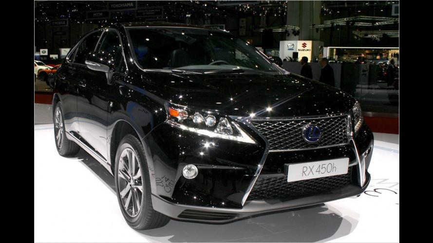 Lexus: RX frisch aufgelegt