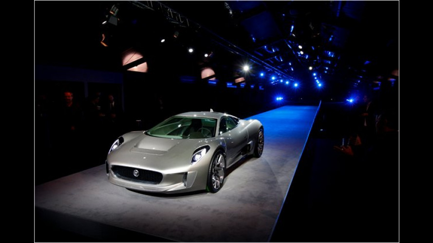 Jaguar: In Paris mit 780 PS starker Elektroflunder C-X75