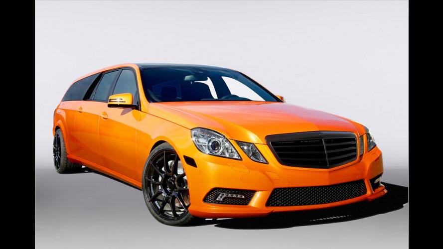 Riesiger Benz-Kombi: Binz X-Orange