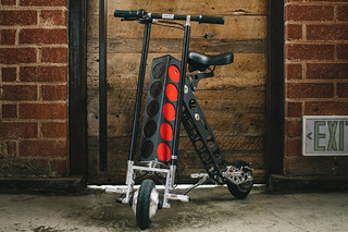 The URB-E is One Neat Little Electric Scooter