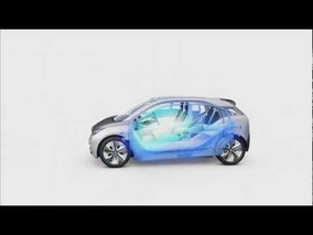 BMW i3 Concept Body Surface Animination